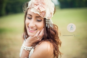 Vintage inspired headpiece, completely handcrafted