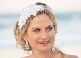 Bespoke headpiece created by Kouture